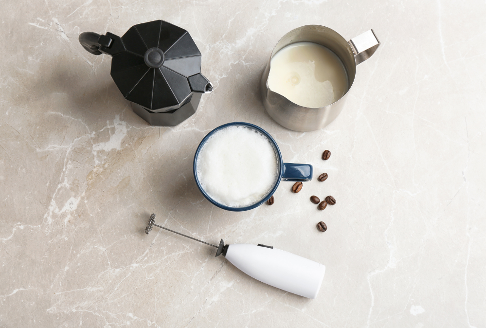 How to Use a Milk Frother   Step by Step Instructions